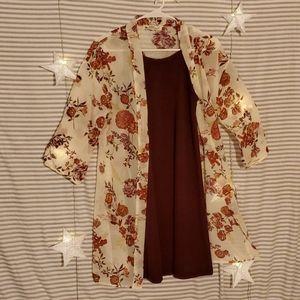 Dress and Kimono